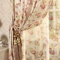 Cretonne Рекомендуемые Новые цветочные занавески для гостиной спальни Корейский сад для свадебной комнаты для маленькой девочки