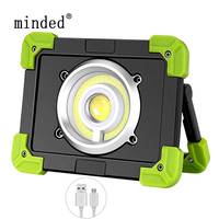 20W Portable Lanterns USB Rechargeable COB LED Floodlight Outdoor Working Light Camping Tent Lamp Led Spotlight Searchlight