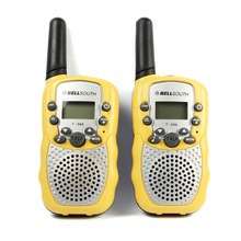 2 stücke Tragbare Drahtlose Walkie talkie Set Acht Kanal 2 Way Radio Intercom 5KM Reise Jan 22