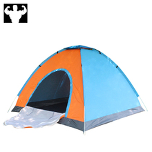 3-4 person speed open hand throwing automatic fishing camping tent beach tent instant pop-up open boat from UV awning