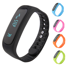 SmartBand E02 здоровья фитнес-трекер Спорт браслет Bluetooth 4.0 Водонепроницаемый браслет для IOS Android Smart Браслет