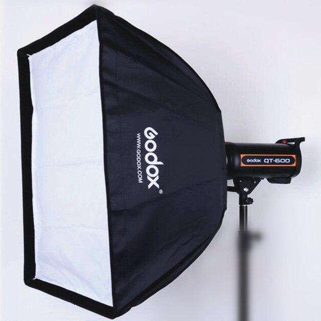Godox 50x70 cm Ảnh nhiếp Ảnh phòng thu Hình Chữ Nhật Umbrella Softbox với Bowens caliber cho Speedlite Ảnh Strobe Studio
