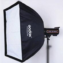 Godox 50x70 cm studio Fotografico fotografia Rettangolare Umbrella Softbox con Bowens calibro per Speedlite Foto Strobe Studio