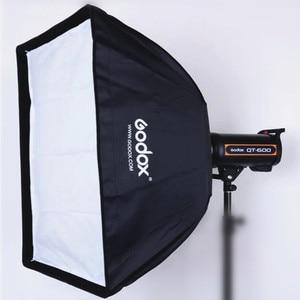 Image 1 - Godox 50x70 سنتيمتر صورة استوديو التصوير مظلة الفوتوغرافي softbox مستطيلة مع بوينس العيار speedlite ستروب استوديو الصور