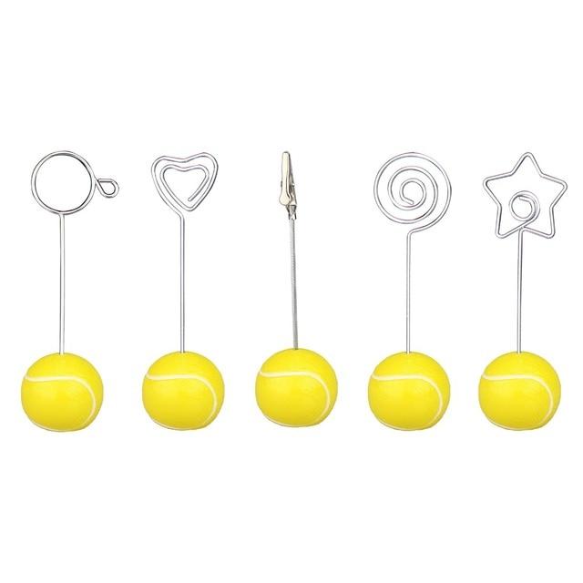 Aliexpress.com : Buy Tennis ball base wire photo clip/memo holder ...
