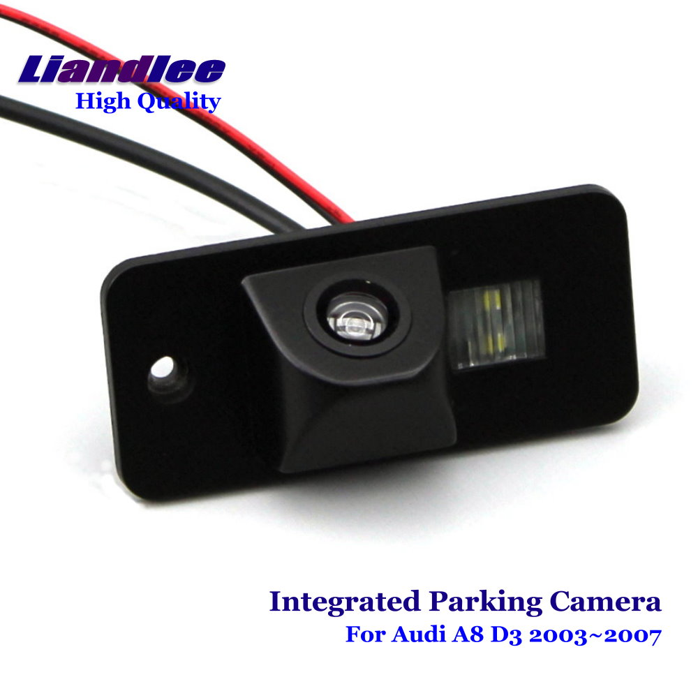 Liandlee For <font><b>Audi</b></font> <font><b>A8</b></font> <font><b>D3</b></font> S8 <font><b>4E</b></font> 2003~2007 Car Rear View Backup Parking Camera Rearview Reverse Camera / SONY CCD HD Integrated image
