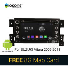 2 din radio 4.4 Car Radio DVD GPS Navi for SUZUKI GRAND VITARA 2007 2008 2009 2010 2011 2012 2013 Built-in 3G Wifi SWC SD