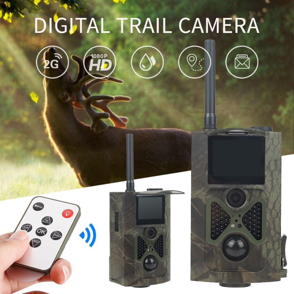 Skatolly 1*Camera HC300M Hunting Trail Camera 16MP 0.5s trigger photo trap 1080P Video Night Vision MMS GPRS Freeshipping Camera