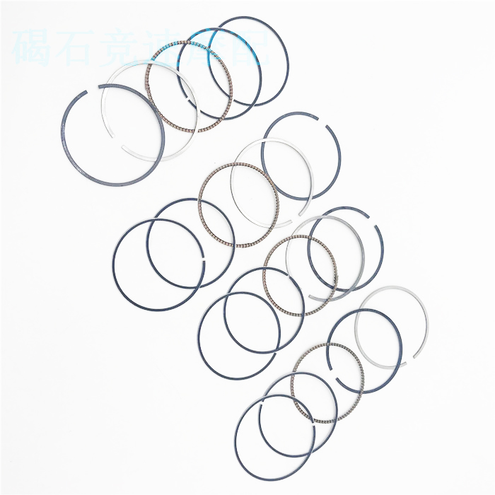 4 SET Motorcycle 48mm Piston Rings Set STD for <font><b>Kawasaki</b></font> ZXR 250 <font><b>ZXR250</b></font> ZX-R250 ZXR250R image