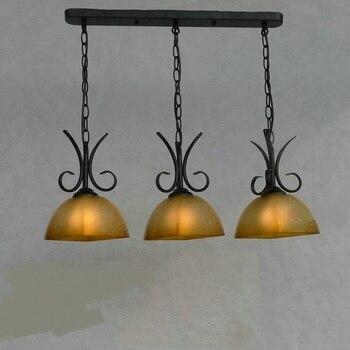 Styl europejski żyrandol lampa oświetleniowa bar pokój bar prosta europejska sztuka antyczna lampa ZX13