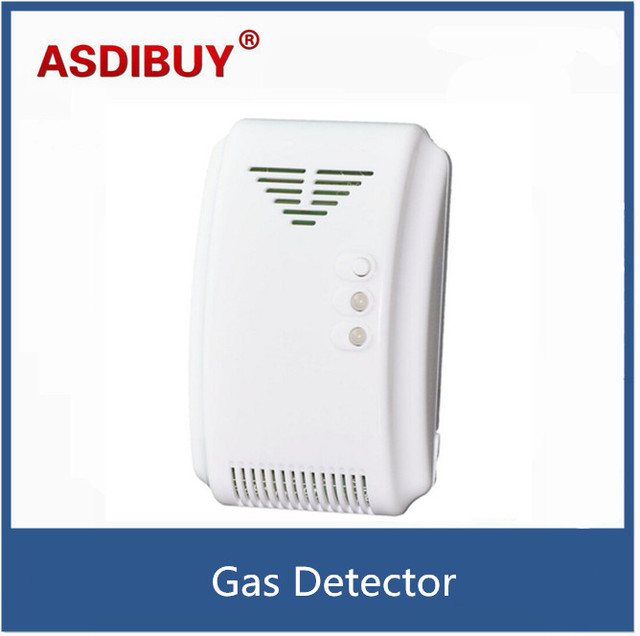 Standalone 433 mhz Wireless Natural Leak Gas Detector Work with Security Alarm System For the Home Security