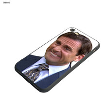 SKEROS Michael Scoot The Office Fashion Phone Soft Cover For Apple Iphone X 5 5S Se 6 6S 7 8 6&6S Plus 7 Plus 8 Plus #ca159(China)