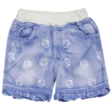 Girls Denim Shorts Kids Simple Summer Style Clothing 1-4Y Children's  Jeans Style Pants XQW-69058