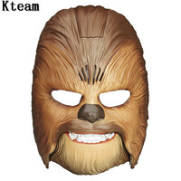 Hot Vivid Voice Mask Star Wars The Force Awakens Chewbacca Mask Electronic Luminous Party&Halloween Mask Toys with Voice For Boy