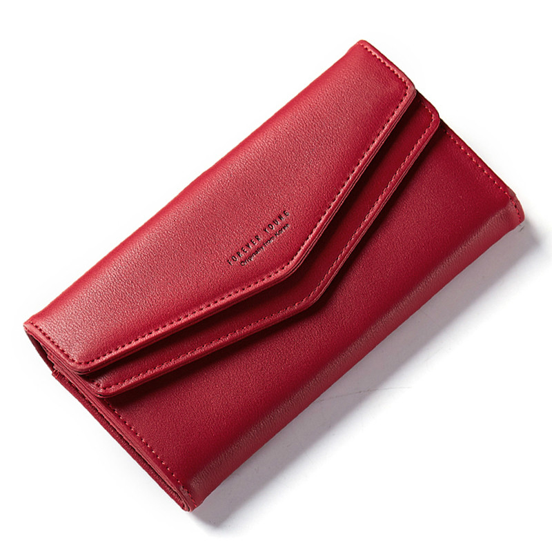 Designer Wallet Leather Purse Women Envelope Clutch Wallet Long with Iphone Xmas Holder Coin Pocket Dropshipping