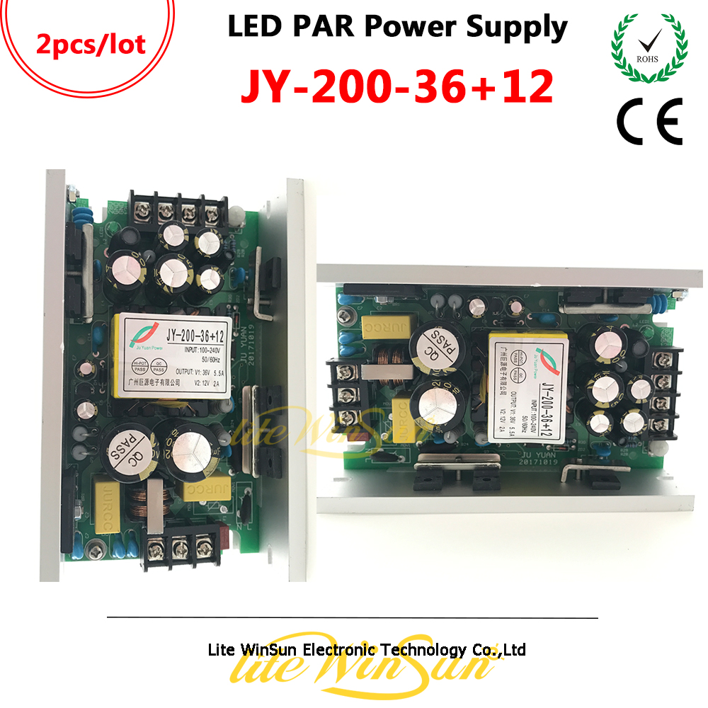Litewinsune JY-200-36+<font><b>12</b></font> Power Supplier Board for <font><b>LED</b></font> <font><b>Par</b></font> Lighting <font><b>LED</b></font> COB <font><b>Par</b></font> Full Color <font><b>RGB</b></font> RGBW 54*3W 24*3W 18*3W Stage Light image