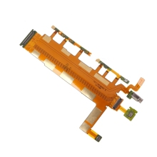 Power Switch Microphone Flex Cable Mobile Phone Par