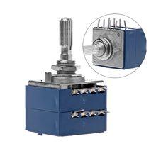 Потенциометр RH2702 8 Pin зубчатый разделительный вал 6 мм Точность 27-тип A50K 50K G08 и Прямая поставка