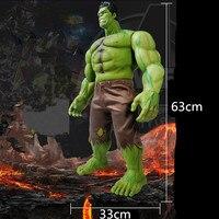 Avengers:Infinity War Superhero Incredible Hulk Robert Bruce Banner PVC Action Figure DC Comics Collectible Model Toy L2072