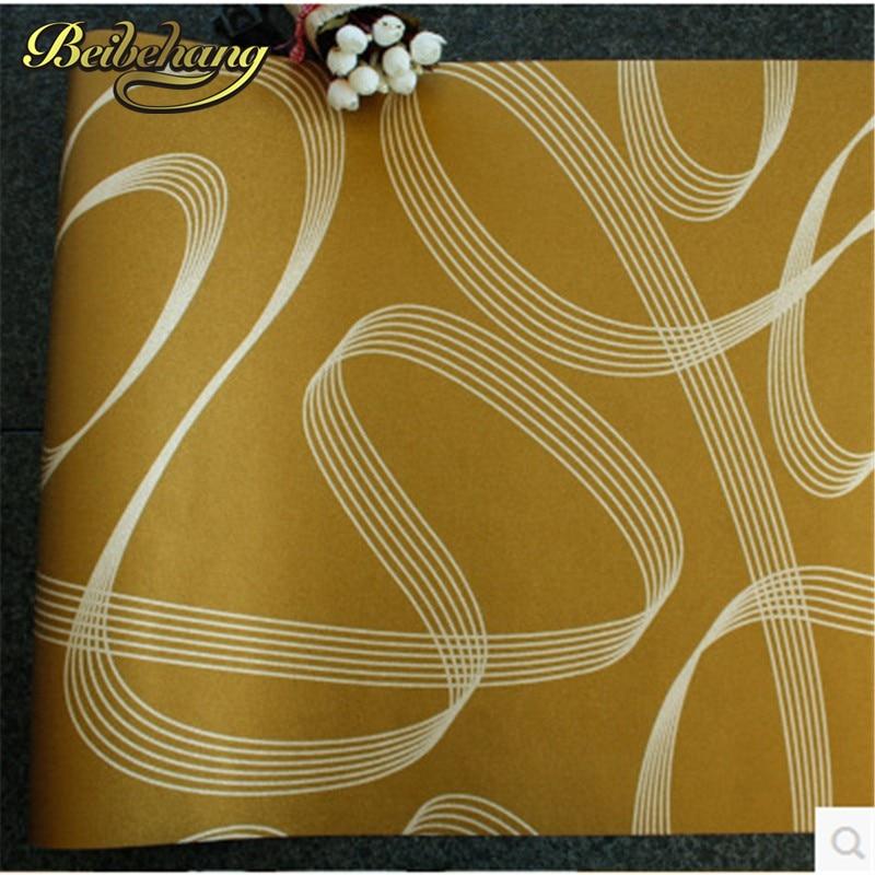 beibehang KTV Wallpaper Modern Line Striped Gold Foil Wallpaper Night Market Hotel Box Lounge Lobby Bar TV Background Wall paper the 2016 gold foil chinese dragon background wallpaper