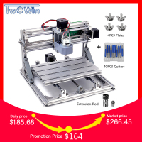CNC3018 withER11 Diy mini CNC Engraving Machine Laser Engraving Pcb PVC Milling Machine Wood Router CNC 3018 Best Advanced Tools