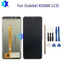 For Original Oukitel K5000 LCD Display Touch Screen Panel Digital Replacement Parts Assembly 5 7 Inch