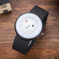 Оригинальный горячие марка футуристические роскошные мужчины женщины черный Военная водонепроницаемый мода повседневная военная кварцевые спортивные часы wristwatc
