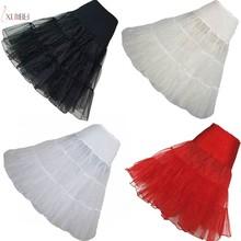 26 Vintage Wedding Petticoat 50s Retro Underskirt Swing Rockabilly Fancy Net Short Tulle Tutu Skirt Accessories
