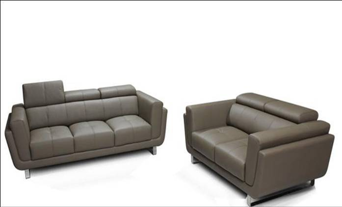 free shipping free shipping 2013 design genuine leather modern sectional sofa set the seater is. Black Bedroom Furniture Sets. Home Design Ideas