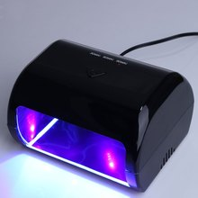 UK AU EU US PLUG GY – LED – 024 Professional 9W Manicure Tool 3 High Power LED Nail Gel Lamp For Nails Gel Polish Dryer