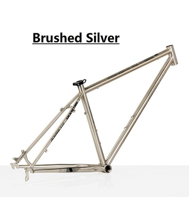 ENVÍO LIBRE Clásico 520 bicicleta de montaña marco de acero de metro ...