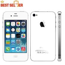 2016 venta caliente original de apple iphone 4s teléfono móvil wcdma dual core wifi gps 8mp multi-idioma ios 8-ios 9 opcional