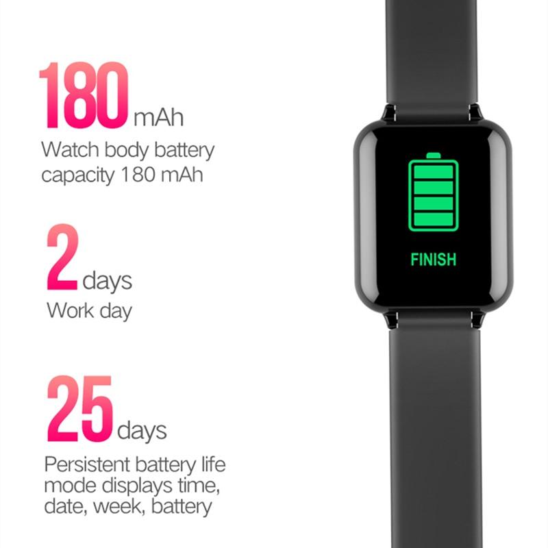 B57 Women Men Smart Watch Waterproof Sports Watch For iPhone