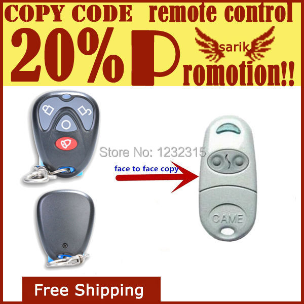 Copy Remote Control 4 Channel 433mhz Rf Duplicator Face to Face copy