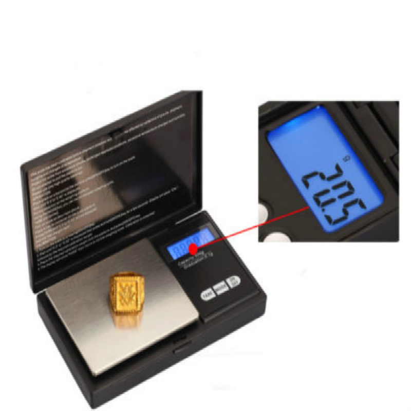 100g/0.01g LCD Digital Pocket Diamond Jewelry Bijoux Sterling Silver Scale Gold Gram Balance Weight Electronic Scales(China)
