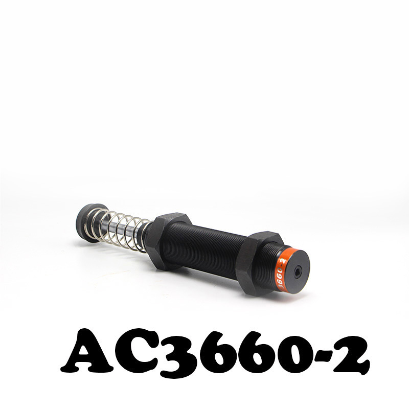 AC3660-2 pneumatic hydraulic shock absorber with high quality automatic compensation hydraulic buffer. adjustable hydraulic buffer pneumatic hydraulic shock absorber ad2030