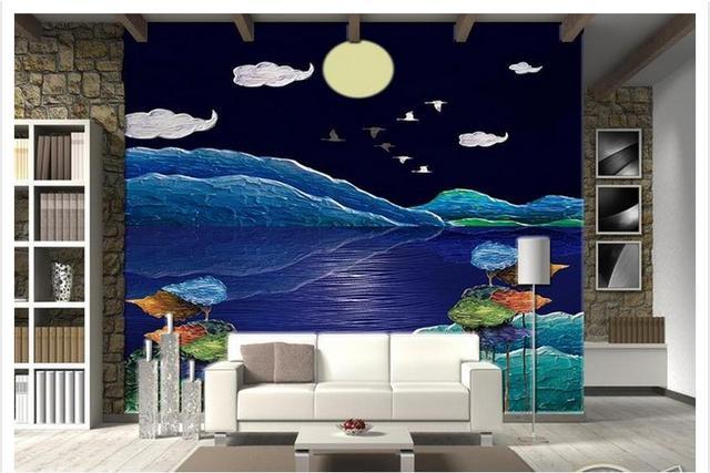 600 Wallpaper Pemandangan Laut Malam