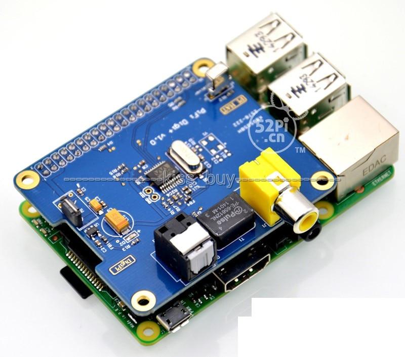 Raspberry Pi X4000 ES9018K2M HiFi Player DAC Expansion Board HDMI