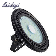 LAIDEYI Free shipping 110v 100w UFO Led High Bay Light 6000-6500k 12000LM Linear Highbay Lamp Fixture High Bay Led Lights 6PCS(China)