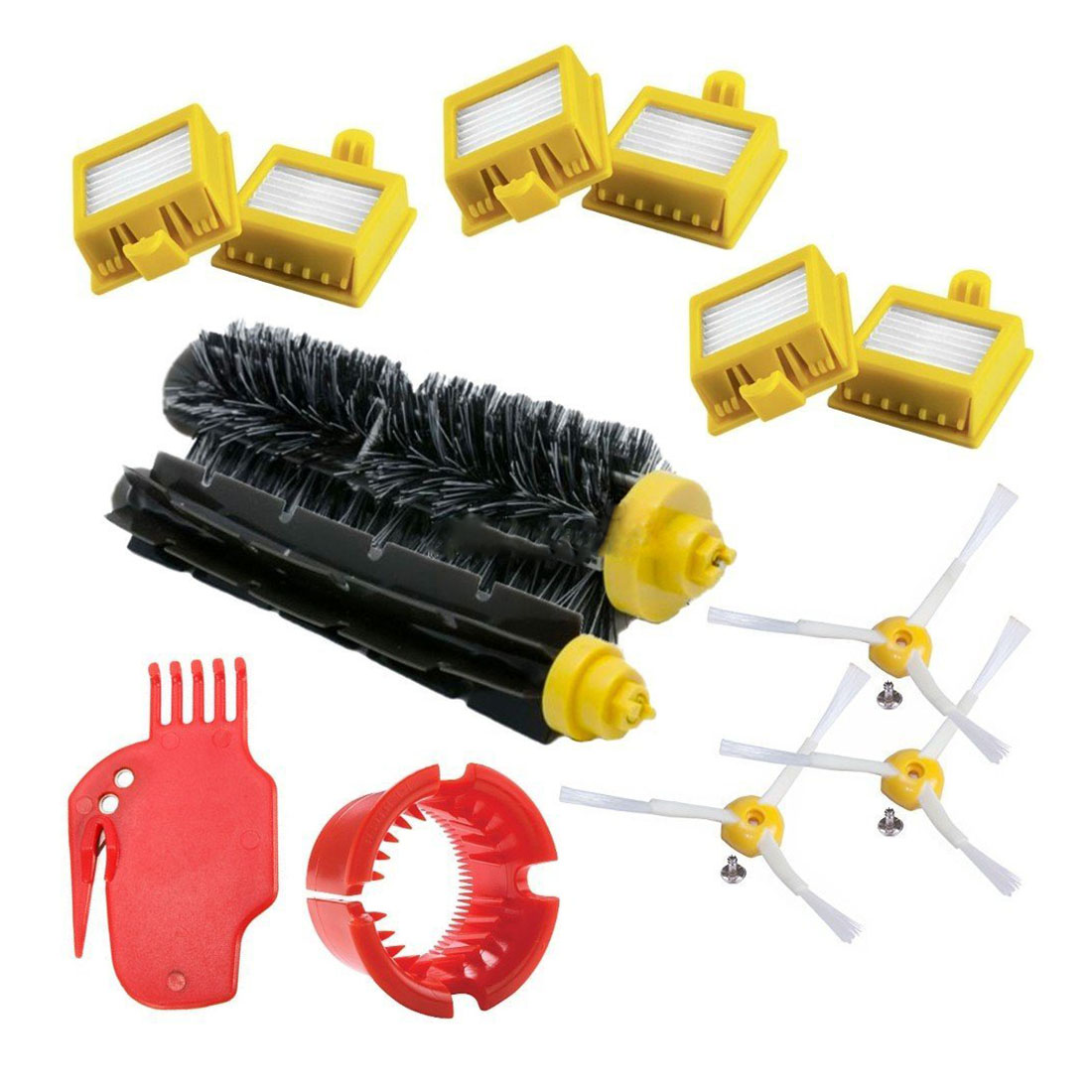 Compatible with Roomba Series 700 760 765 770 772 775 776 776 P 780 782 785 786 Spare Kit,Vacuum Robot and Replacement Parts