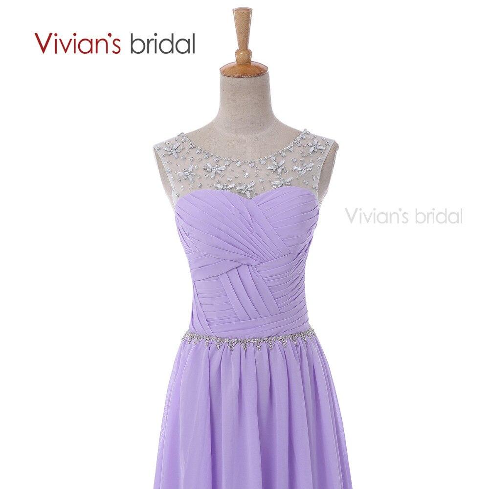 Вивиан Свадебные Sexy Бисером Вечерние Платья Шифон EV001 платье вечерние в пол платья женские