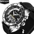 Relojes Hombre 2016 SANDA Fashion Men Watches Waterproof Sports Military Quartz Wristwatches Noctilucent LED Digital Watch Men