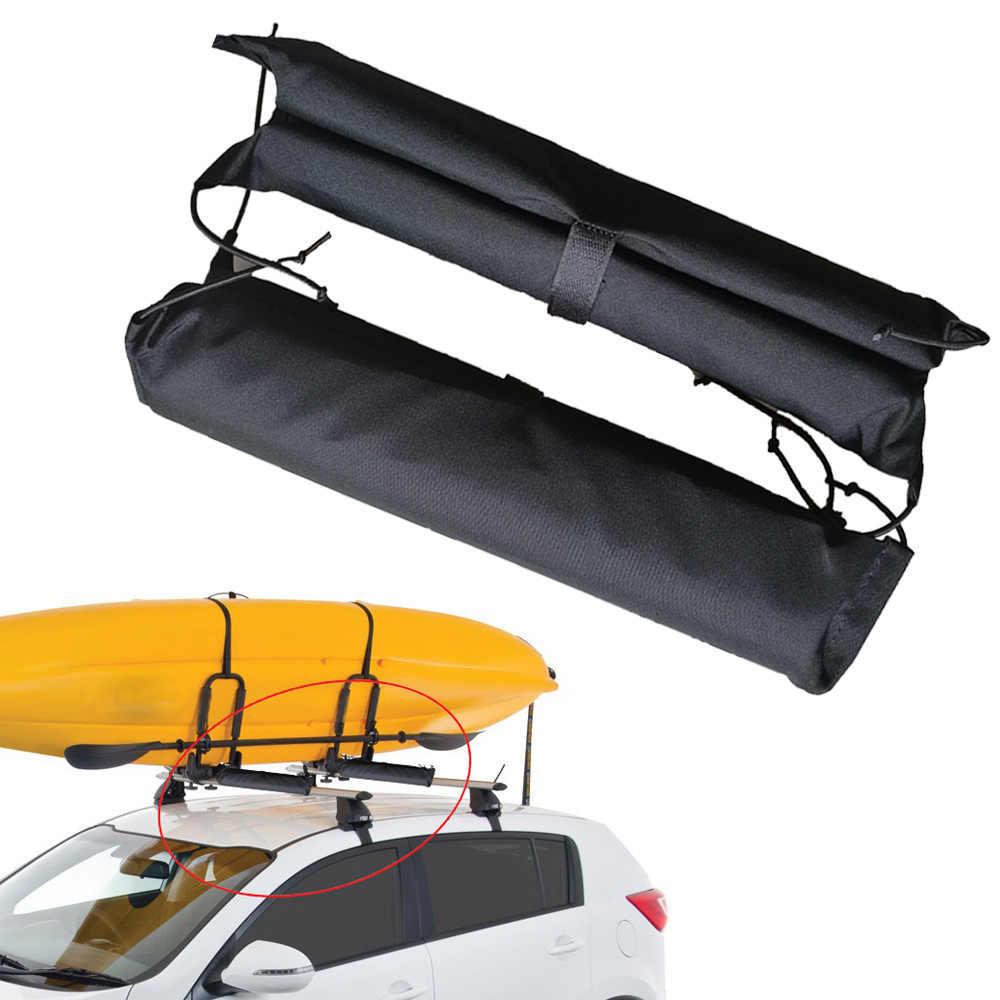 Paddle Board Car Racks >> 2pc Sup Board Kayak Rack Pads Car Roof Cross Bars Cover