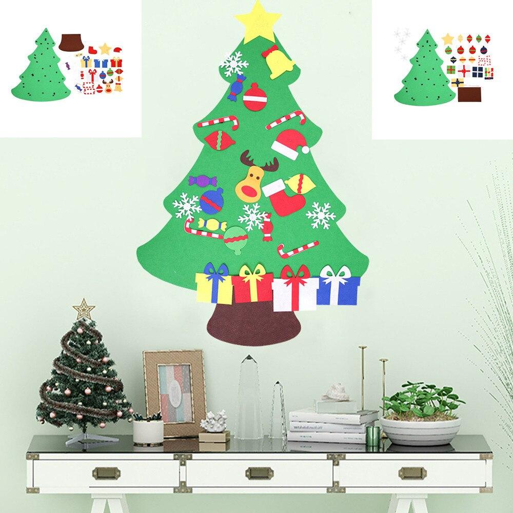 Large Christmas Tree: DIY Three Dimensional Felt Cloth Christmas Tree Large