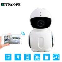 Antscope Robot HD1080P 2MP WIFI IP Camera Brand Night Vision Security Camera IR Mini Robot Indoor
