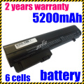 JIGU Laptop Battery For HP 2533t EliteBook 2530p EliteBook 2540p Hp Compaq Business Notebook 2400 2510p NC2400  6CELLS