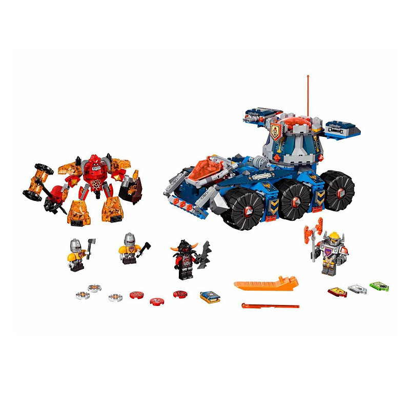 Lepin 70322 Pogo Bela 10520 Nexus Nexo Knights Future Tower Defense Tank Building Blocks Bricks Compatible Legoe Toys