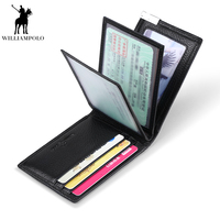 2018 New Cow Genuine Leather Men Women Card Holder Wallets High Quality Male Female Credit Card