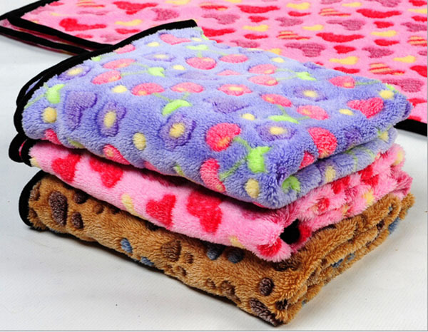 1pcs/lot dogs cats soft blankets pet dog cat autumn winter warm mats puppy litter doggy nest pets products bed S L