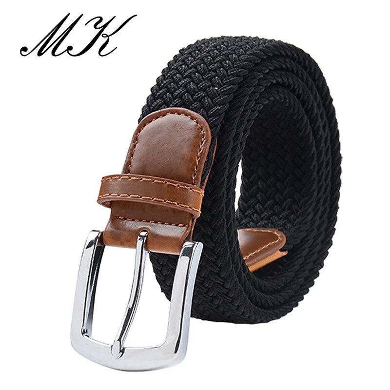 MaiKun мужские ремни с металлической пряжкой булавки эластичный мужской ремень армейский тактический ремень для мужчин